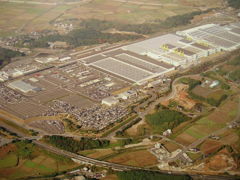 Toyota plant in japan: 14