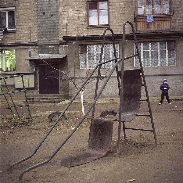 Unused Children playground