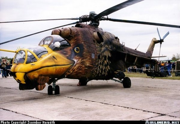Creative painting in Aircrafts