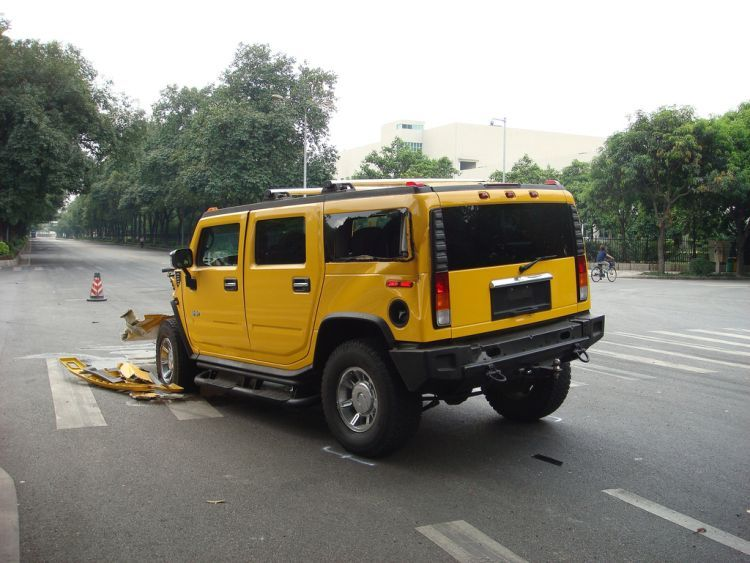 Hummer accident: 21Pics