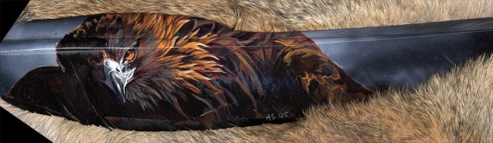 Feather paintings: 15