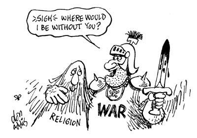 Religion, War and Human Rights ~ GIAZILO