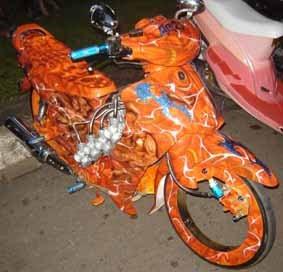 Motor Cycles Sports Modifikasi Motor Jupiter Z