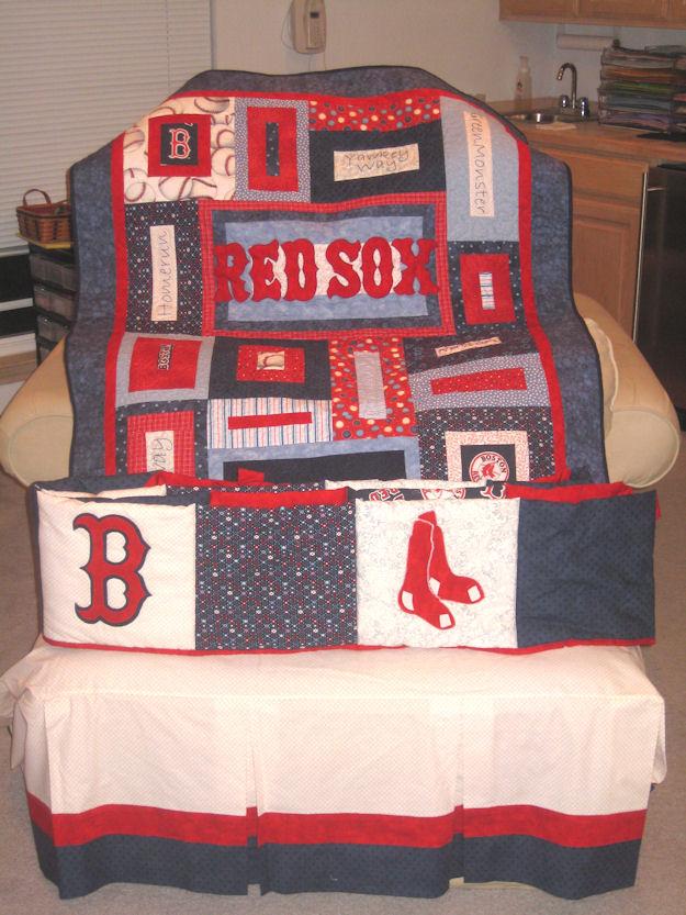 Karebear Kards And Gifts Boston Red Sox Nursery