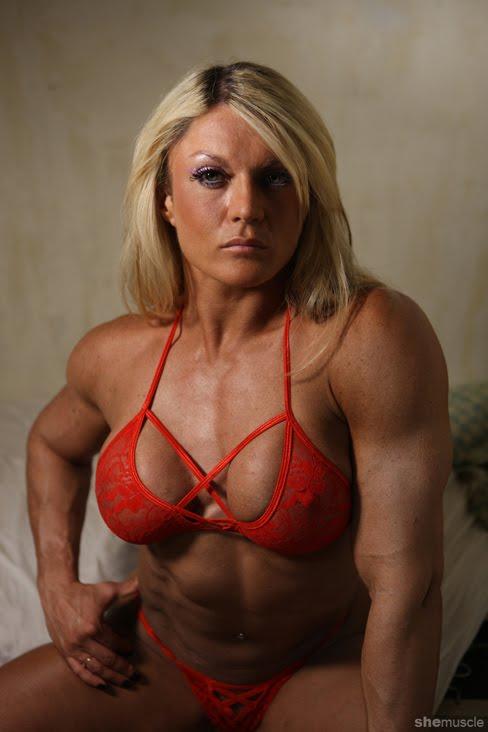 Erstaunliche erotische Bodybuilderinnen