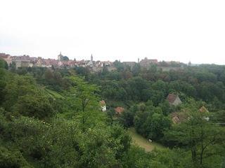 Vistas desde los jardines del castillo