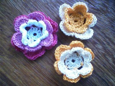 Flores de Crochê…Eu Conseguiiiiiiiiii !!!!!!!!!!!!!!