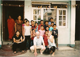 Volunteers with Orphans