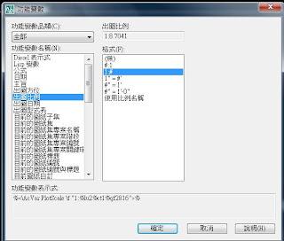 Blog.Sinjie: AutoCad 教學筆記 功能變數 圖框