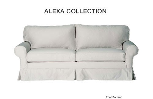 Mitchell Gold Alexa Sofa Slipcover Best House Interior Today