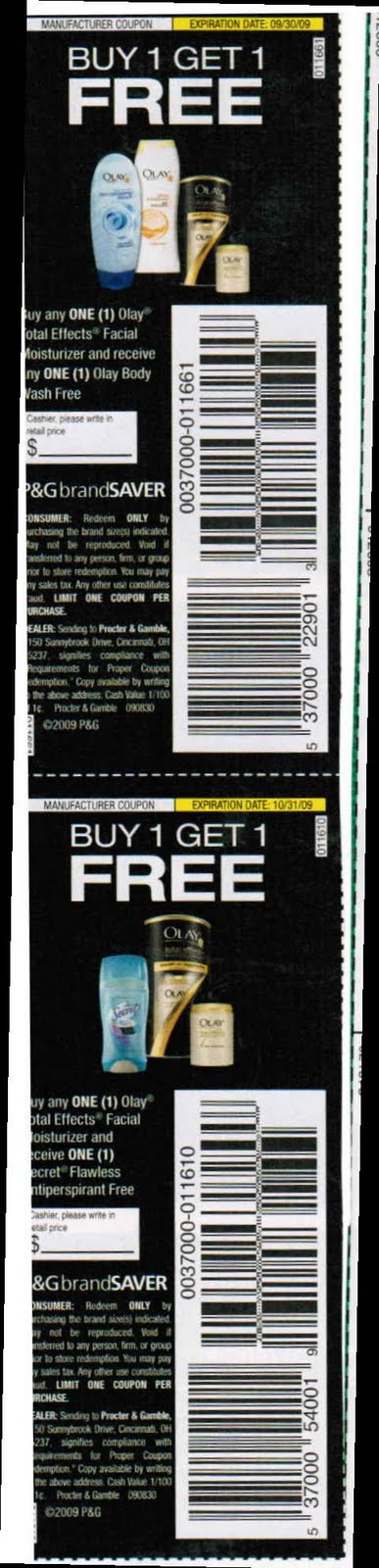 Free Coupons Online December 2009