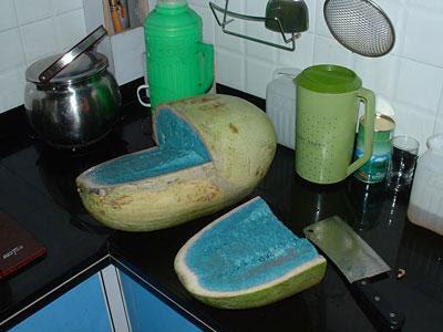 Joshu@L@w's Blog: Wow~ Blue Watermelon!!!