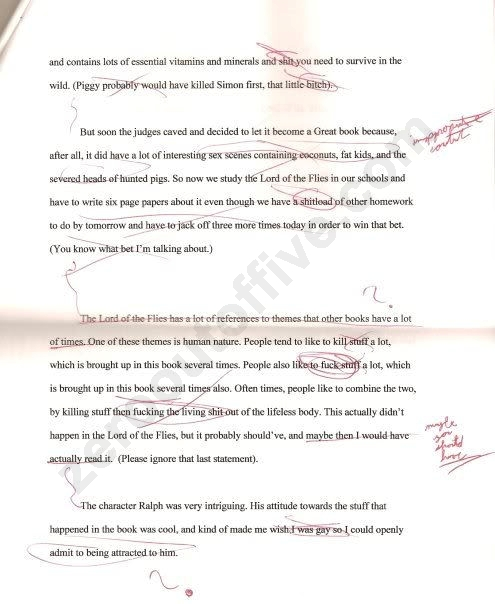 lord of flies essay lord of the flies redux zero out of five lord of