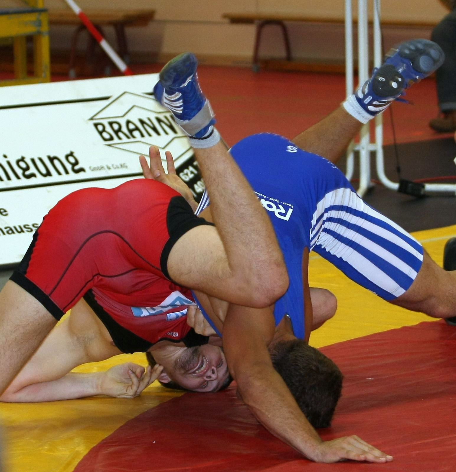 wrestling world: German wrestling: Potsdam vs Untergriesbach