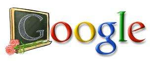 Google teachers day logo