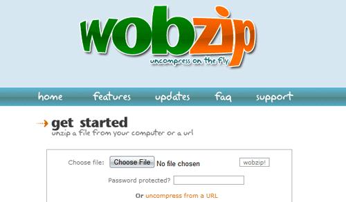 WobZIP Screenshot