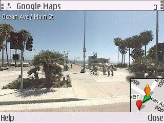 Nokia E71 Blog For Fanatics Google Maps Street View For Nokia E71