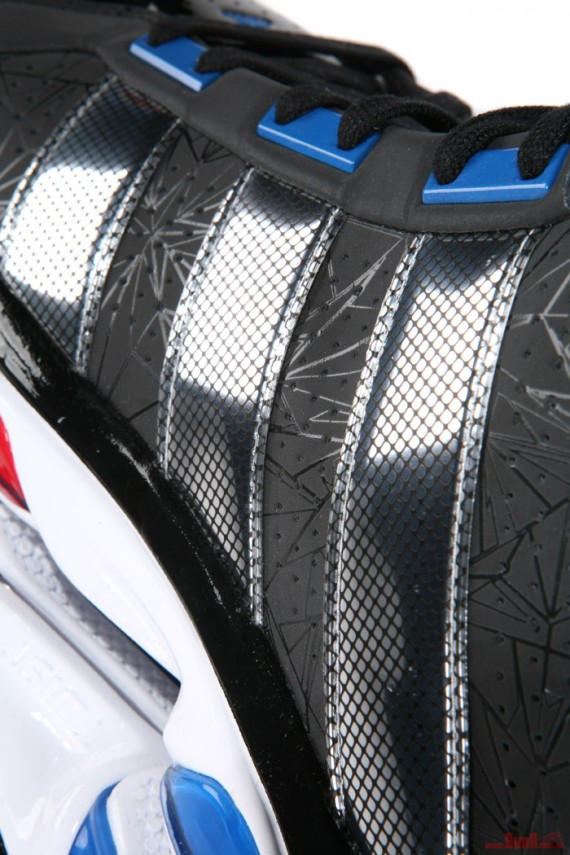 62a4ea8827af ... 1.5 for Derrick Rose features a clean Black base with star detailing  throughout along with a Chrome 3 strip heel. As we get closer to the All- Star Game ...