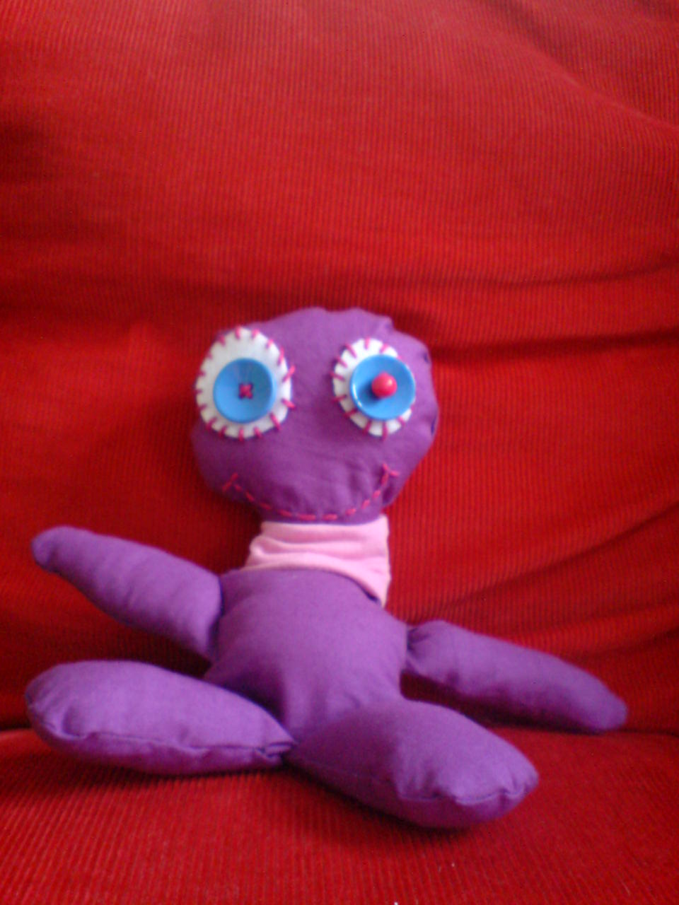 The First Cuddly Toy I Ve Ever Made Luloveshandmade