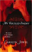 Review: My Wicked Enemy by Carolyn Jewel