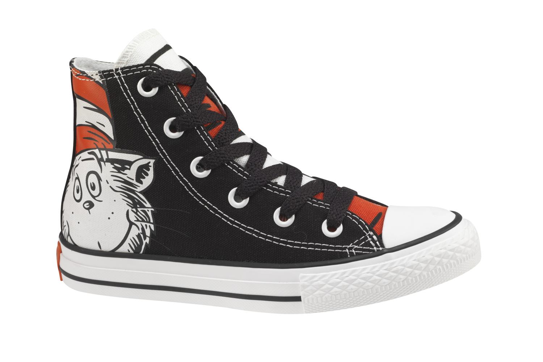 Dr Seuss Baby Converse Shoes