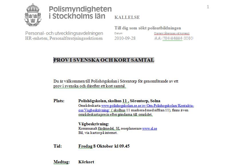 polismyndigheten stockholms län operativa avdelningen kontakt