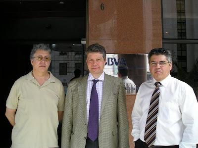 Luciano Luxilde (CIG), Fraser Beastall (Comité Reino Unido), João Bonito Comissao (Comité Portugal)