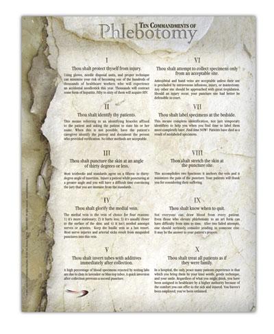 Analis Laboratorium Kesehatan The 10 Commandments Of