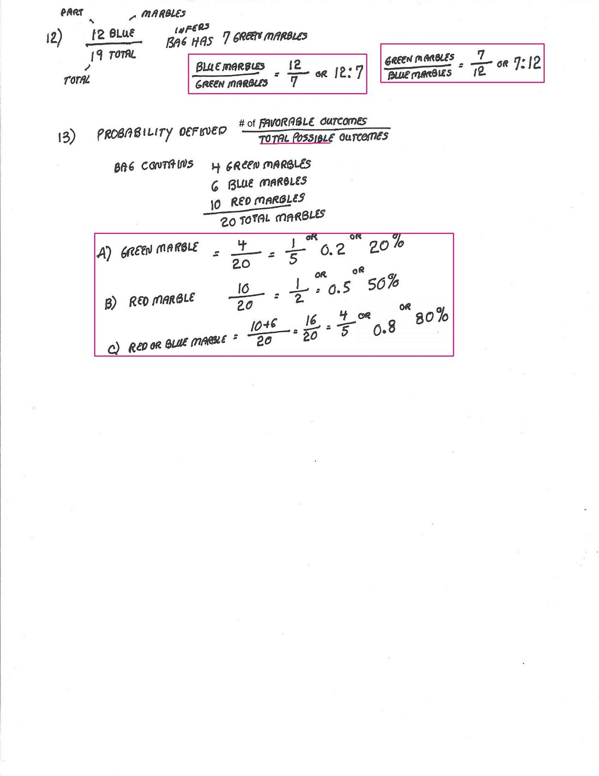 Cobb Adult Ed Math Ratio And Proportion Solutions To Worksheet