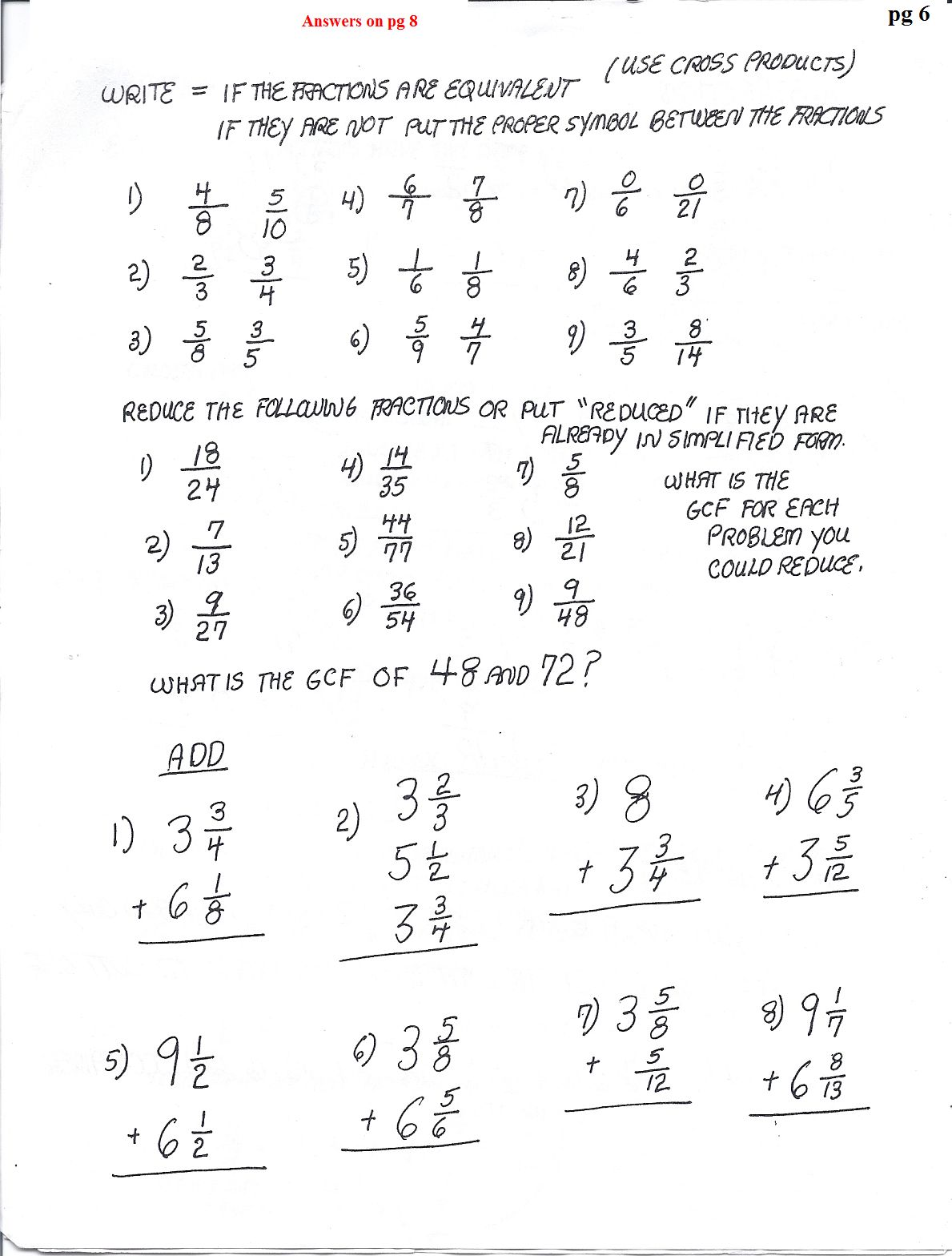 Math Worksheet For Adult Aphasics