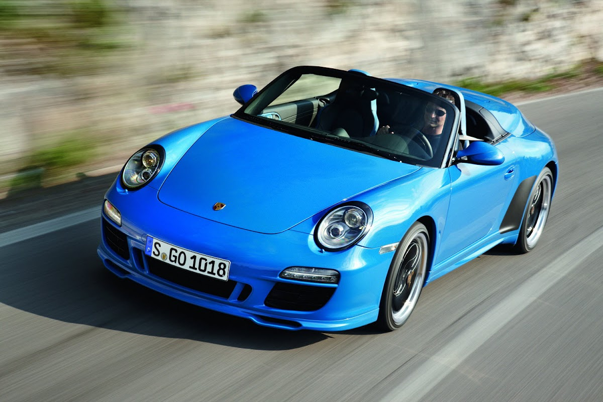 Paris Preview: 2011 Porsche 911 Speedster