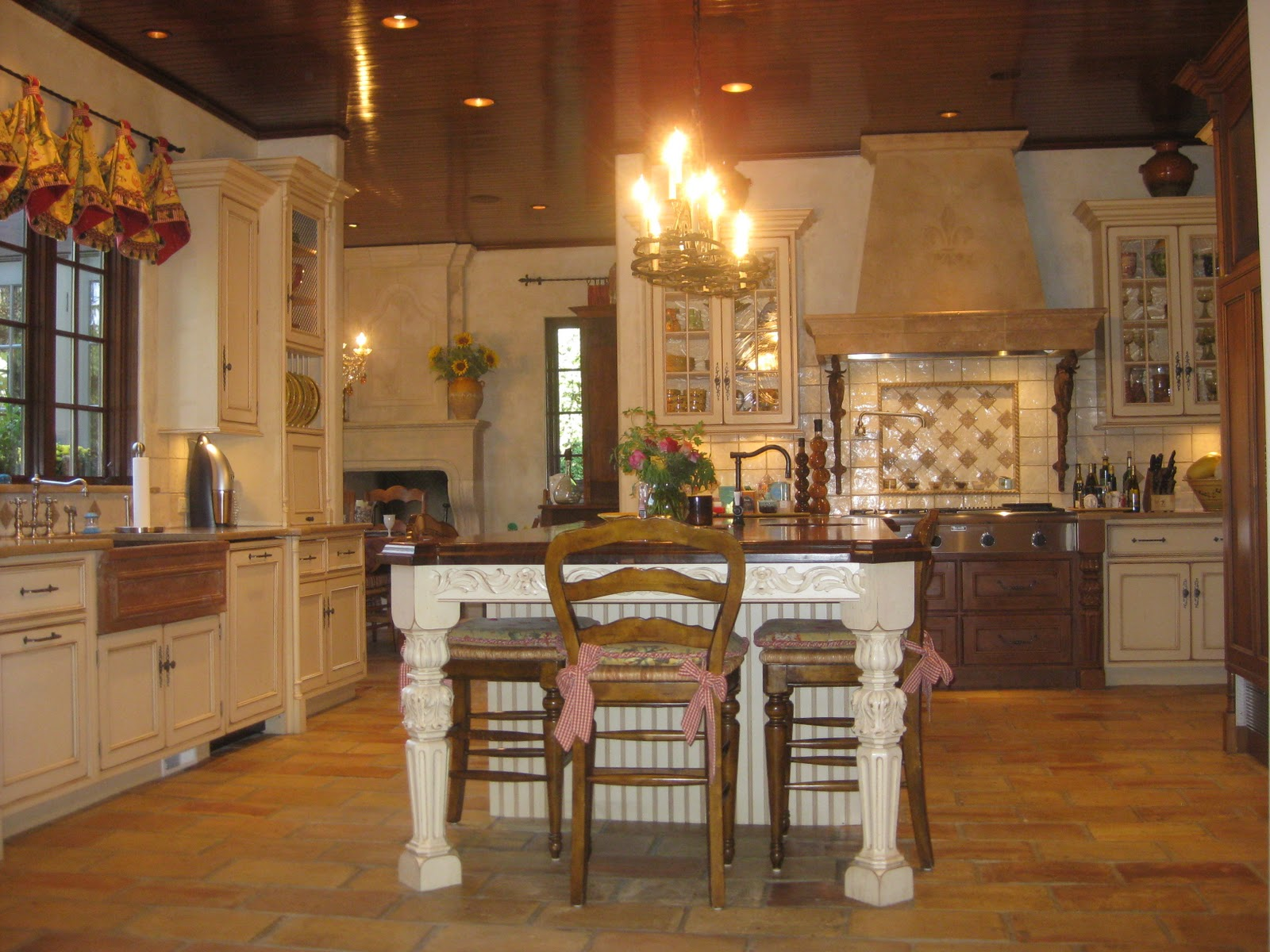 Country French Kitchens Kitchen Tiles Designs Always Robins Egg Blue All That Is Let