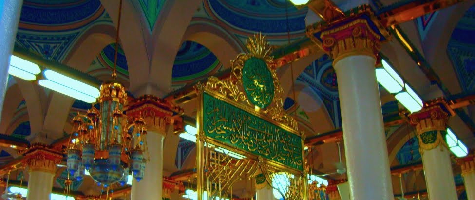 INSIDE OF MASJID E NABAWI...