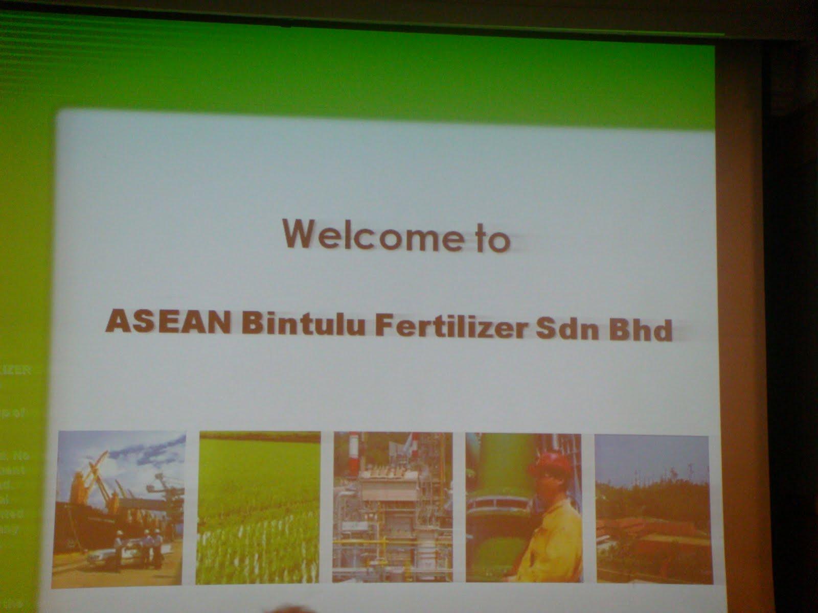 Memories  : Bintulu Site Visit to ABF and B-Port