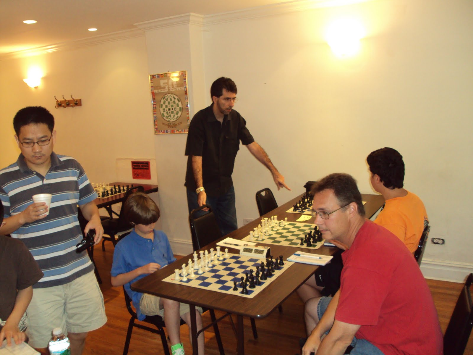 Jim West On Chess: Photos from Marshall CC Swiss 7/4/2010