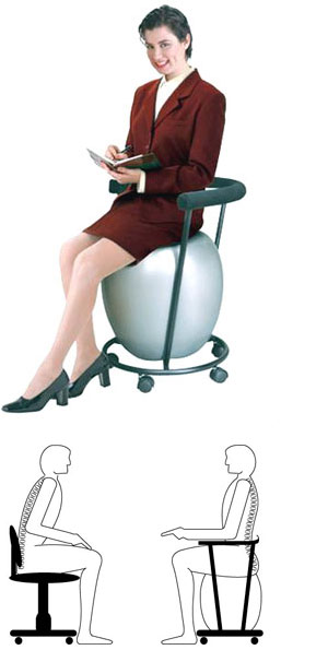 Ergonomic Ball Chairs Very Beneficial for Your Health | BALL CHAIRS