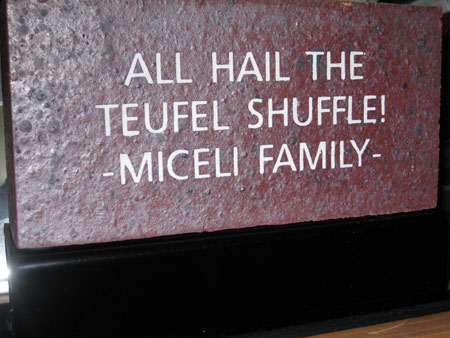 NY METS FANWALK BRICK - The Miceli Family