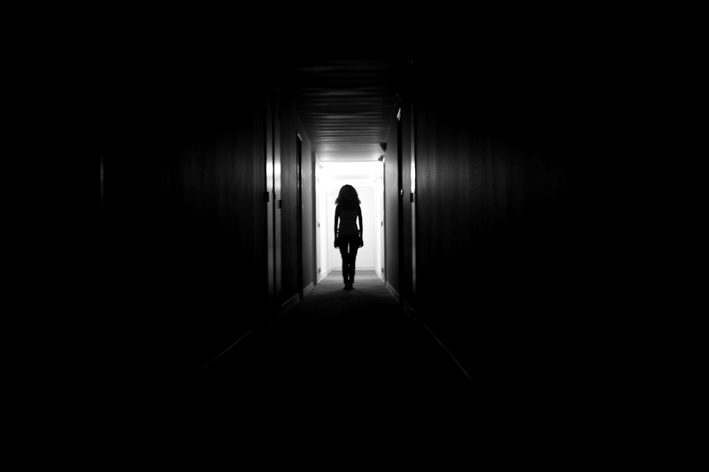 In The Apartment Block We Currently Reside Live This Creepy Corridor It Reminds Me Of Horror Movie Shining See What I Mean