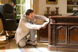 Cage Finding A Treasure Map In The Resolute Desk