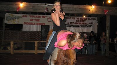 Girls Riding Mechanical Bulls are Hot - greencitynews