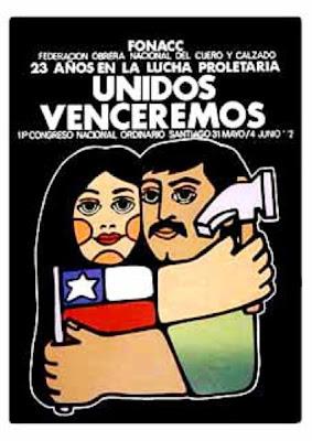 """EL AFICHE CHILENO...""""UN GRITO EN LA CALLE"""": Cartel Chileno"""