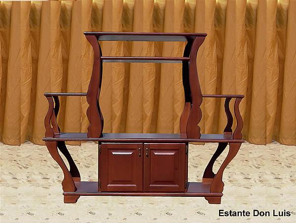 muebles en madera de todo tipo