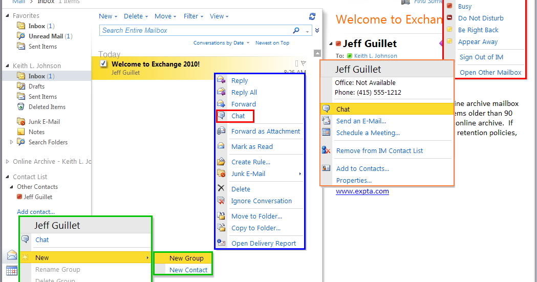 The EXPTA {blog}: How to Integrate Lync Server 2010 with