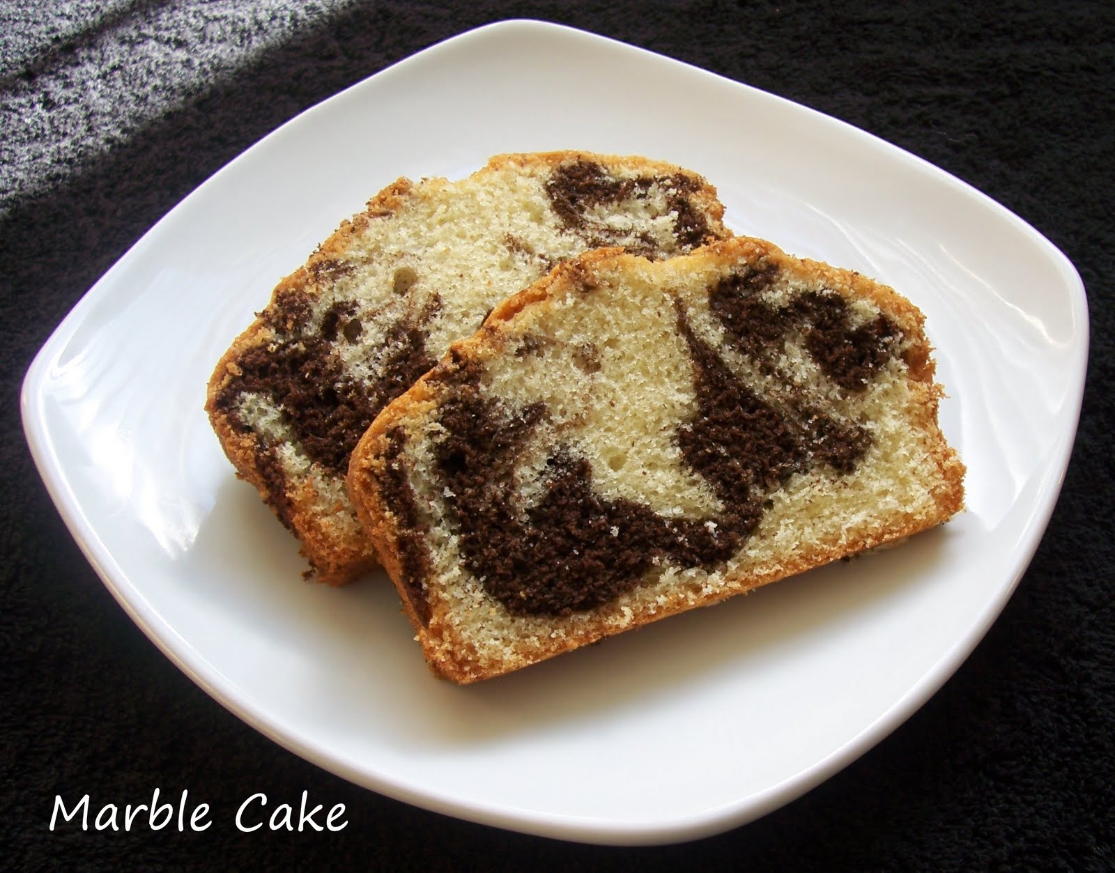 Double Chocolate Marble Cake Recipe