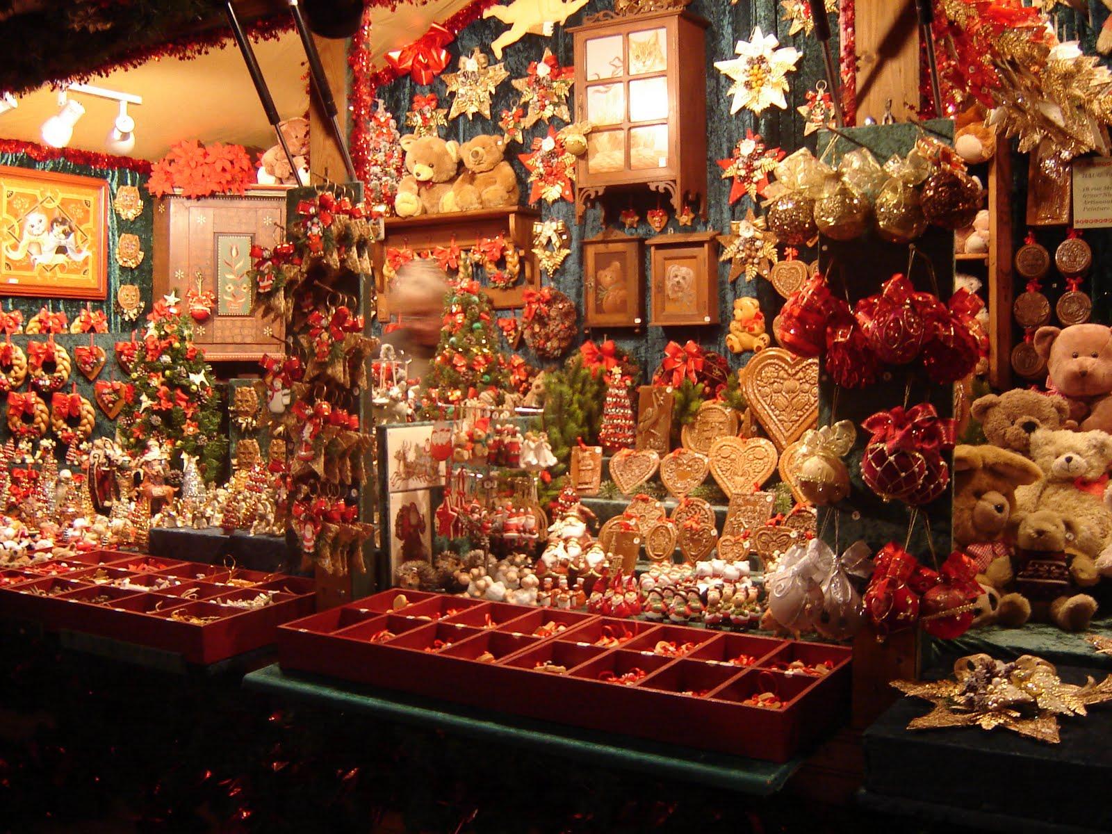 Nom Decoration Marche De Noel Paris