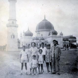 Mesjid Azizi, Tanjung Pura, Langkat, Januari 1963