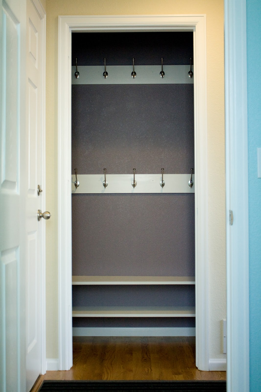 Remodelaholic Reinterpreting The Hall Closet To A Mini