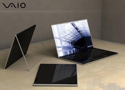 vaio-zoom TOP 10 - Futuristic Concept Laptop Designs