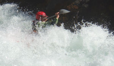 JimH kayaking Hell Hole Rapid