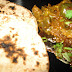 Kathirikkai Masal/Eggplant Curry with Tandoori Roti and take part in Earth Hour